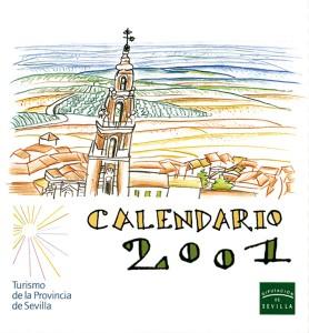 Calendario 2001.Calendario 2001 Grupo Pandora