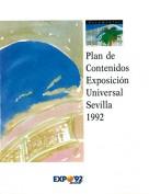 Documentos Nº 5. Plan de contenidos Exposición Universal Sevilla 1992. Documentos Expo. Grupo Pandora. Editor: Pedro Tabernero.