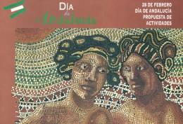 Día de Andalucía. Cuadernos didácticos. Grupo Pandora. Editor: Pedro Tabernero.
