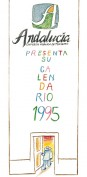 Calendario 1995. Calendarios. Grupo Pandora. Editor: Pedro Tabernero.