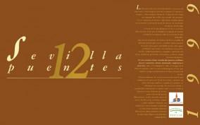 Calendario 1999. Sevilla doce puentes. Calendarios. Grupo Pandora. Editor: Pedro Tabernero.