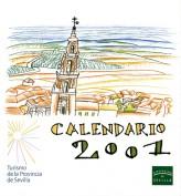 Calendario 2001. Calendarios. Grupo Pandora. Editor: Pedro Tabernero.