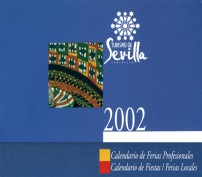 Calendario 2002. Grupo Pandora. Editor: Pedro Tabernero.