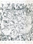 Miguel Calatayud de memoria. Carpetas artísticas. Grupo Pandora. Editor: Pedro Tabernero.