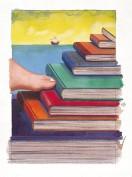 Milton Glaser. Biblioteca Quinto Centenario. Grupo Pandora. Editor: Pedro Tabernero.