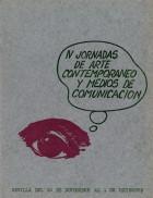 IV Jornadas de Arte Contemporáneo y Medios de Comunicación. Grupo Pandora. Editor: Pedro Tabernero.