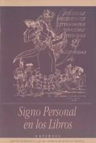 Signo personal en los libros / Ex libris. Grupo Pandora. Editor: Pedro Tabernero.